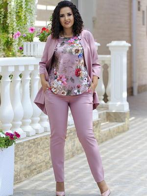 Комплект: жакет, штани і блуза | 5560653