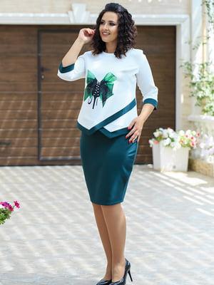 Костюм: блуза і спідниця | 5560664