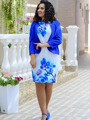 Костюм: сукня і жакет | 5560670