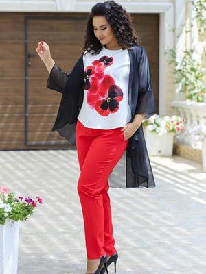 Комплект: кардиган, блуза и брюки | 5560677