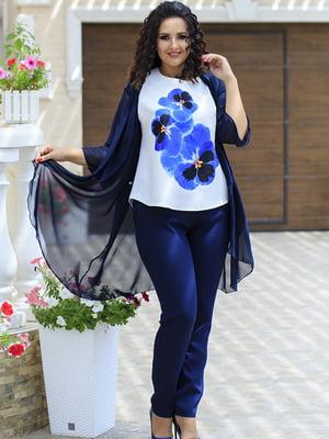 Комплект: кардиган, блуза і штани | 5560678