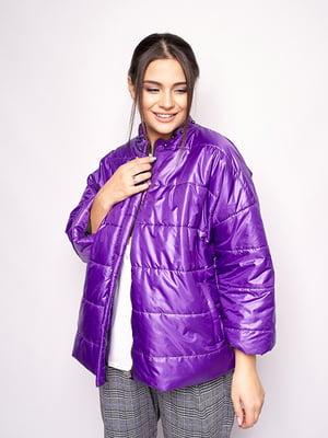 Куртка фіолетова | 5560688