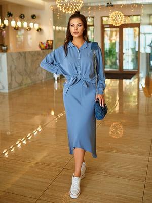 Комплект: юбка и рубашка | 5560770