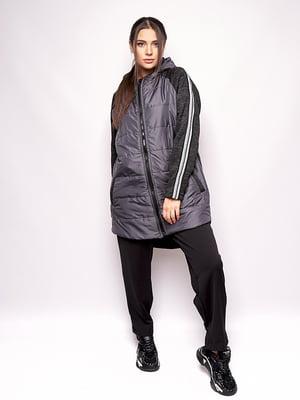Куртка графитового цвета   5560840