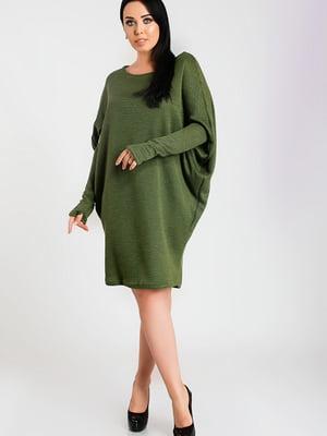 Сукня кольору хакі | 5560880