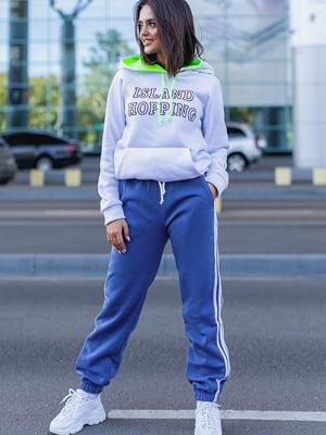 Спортивные брюки синие | 5560888