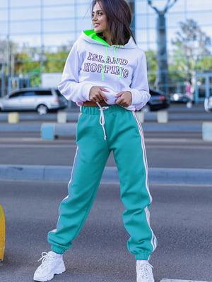 Спортивные брюки бирюзовые | 5560890