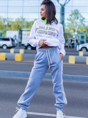 Спортивні штани сірі | 5560892