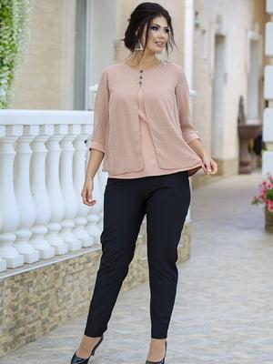 Костюм: блуза и брюки | 5560917