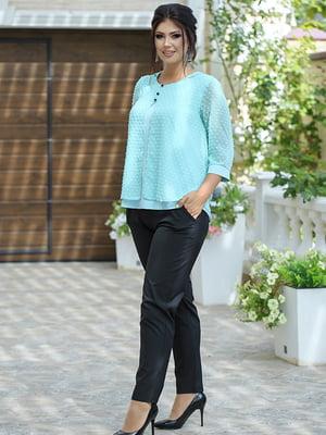 Костюм: блуза і штани | 5560922