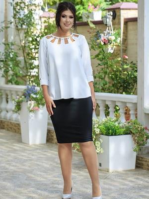 Костюм: блуза і спідниця | 5560939