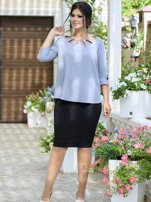 Костюм: блуза и юбка | 5560942