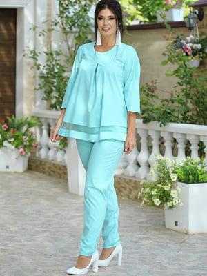 Костюм: блуза и брюки | 5560977