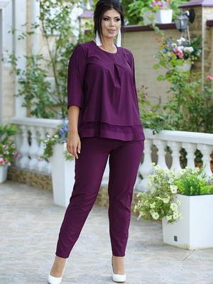 Костюм: блуза и брюки   5560980