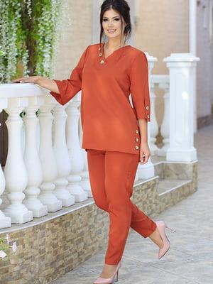 Костюм: блуза и брюки   5560992