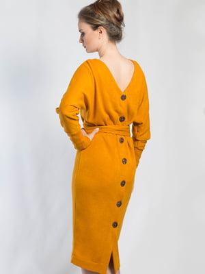 Платье желтое | 5561112