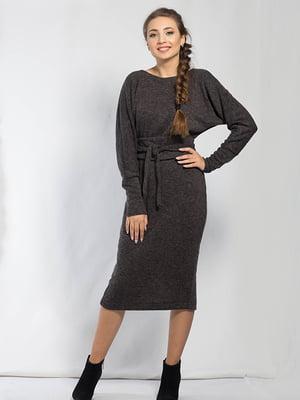 Платье темно-серое | 5561113