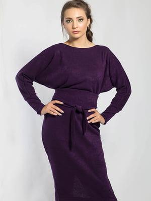 Сукня темно-фіолетова   5561125