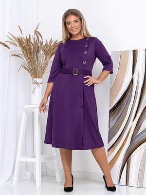 Платье фиолетовое | 5560988