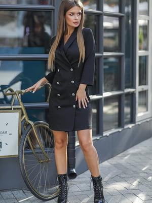 Платье черное | 5561011