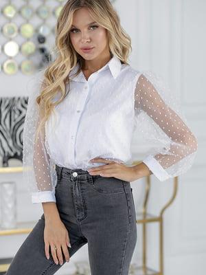 Блуза біла | 5561031