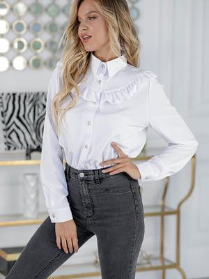 Блуза біла | 5561034