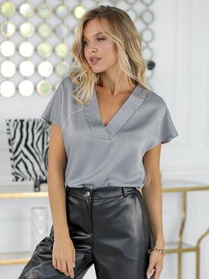 Блуза серая | 5561041