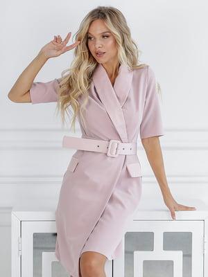 Платье пудрового цвета | 5561046