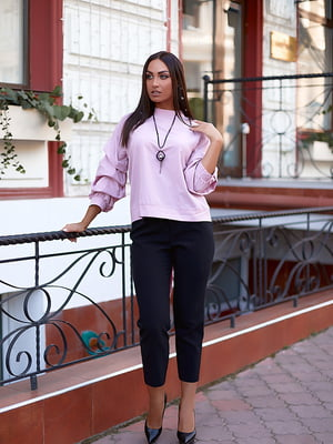 Блуза пудрового цвета   5561076