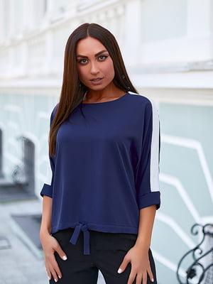 Блуза темно-синяя   5561079