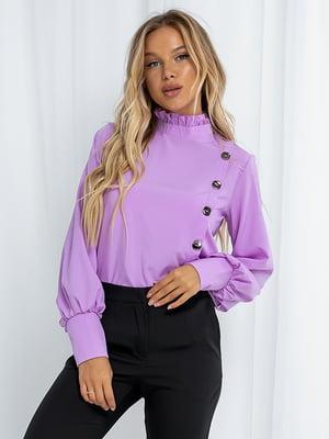 Блуза лилового цвета   5561081
