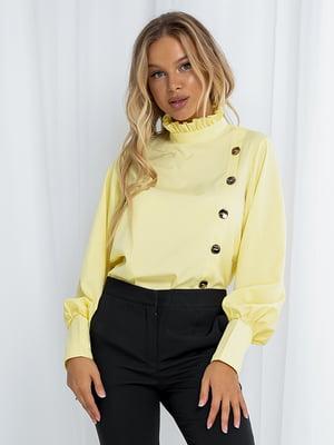 Блуза лимонного кольору | 5561082