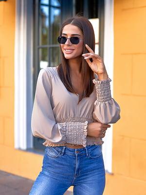 Блуза бежевая   5561089
