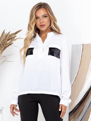 Блуза белая   5561100