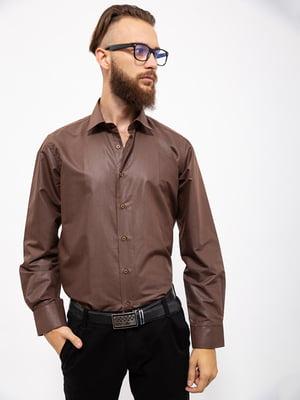 Рубашка коричневая | 5323083