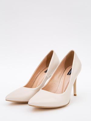 Туфлі бежеві | 5553628