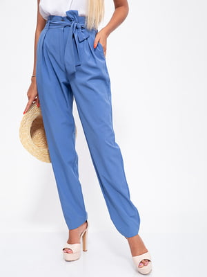 Брюки цвета джинс | 5553713