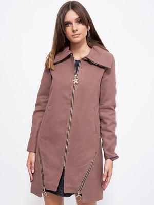 Пальто цвета мокко   5553769