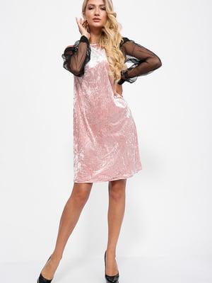 Платье двухцветное | 5553809