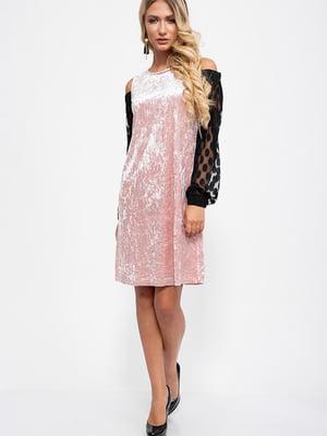 Платье двухцветное | 5553810