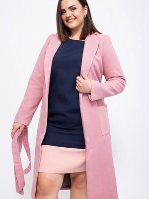 Пальто розовое   5553813