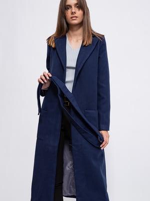 Пальто синее   5553869