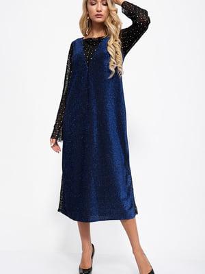 Платье синее | 5553887