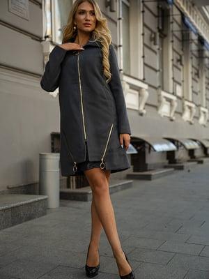 Пальто темно-серое   5553925