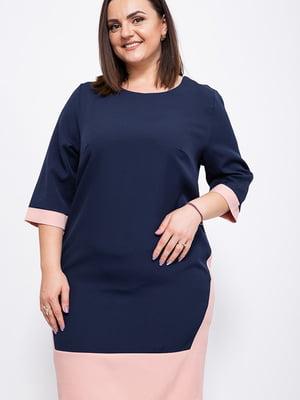 Сукня темно-синя | 5553935