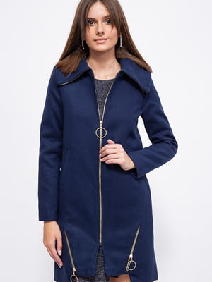 Пальто темно-синее   5553939