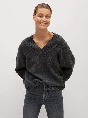 Пуловер серый | 5561369