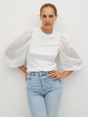 Блуза белая | 5561386