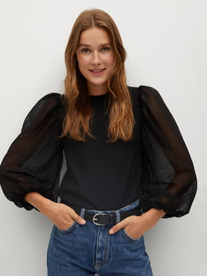 Блуза черная | 5561387