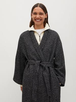 Пальто в «гусячу лапку» | 5561398